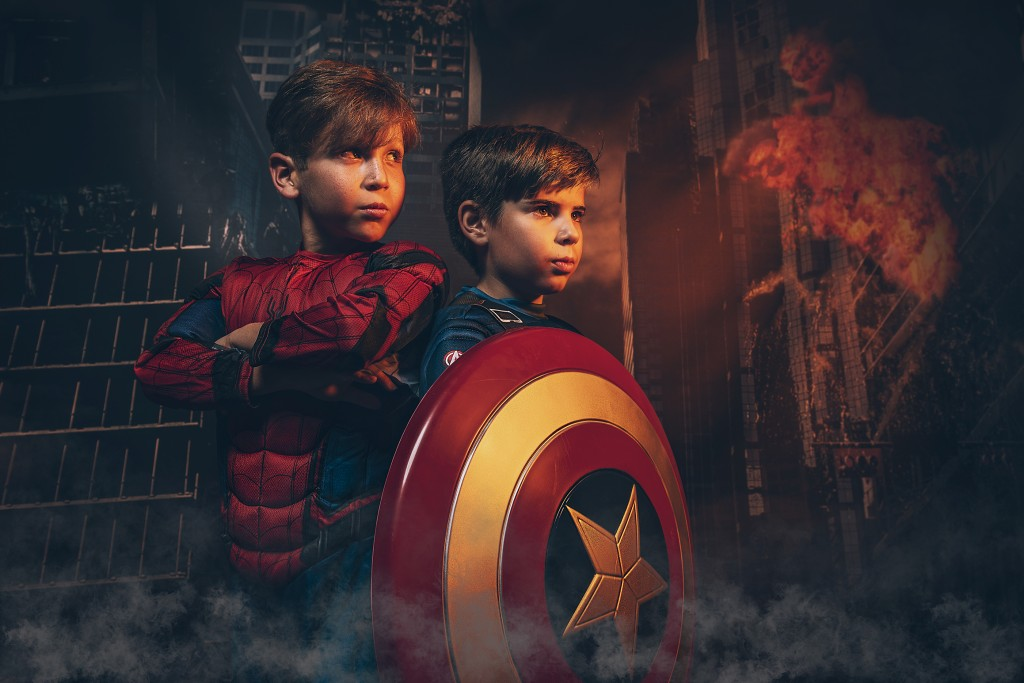 Super Hero Portraits